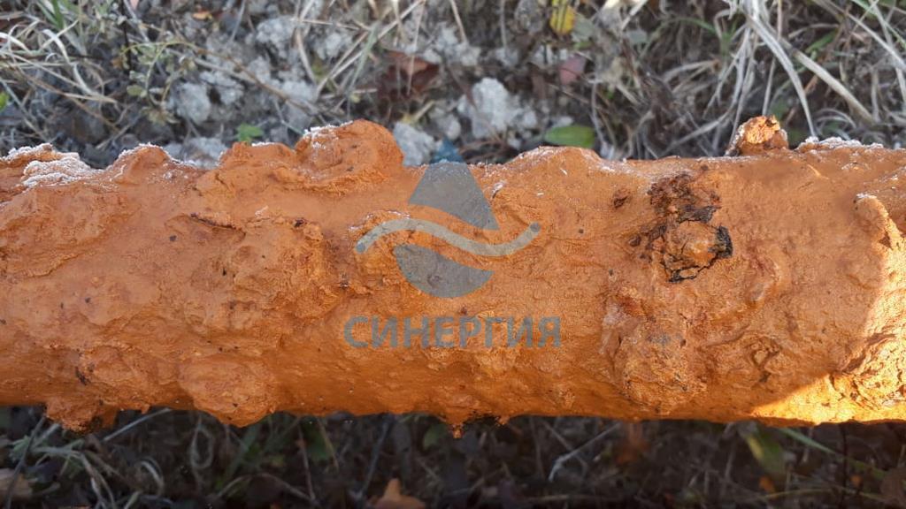 TXXE0707 1.6. Очистка водоподъемных труб от коррозионных отложений.